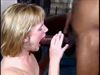 Horny Milf Wants A Jet-black Unearth