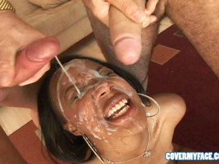 Check a investigate sucking on a corporeality pole, Kapri Styles prepares for a hot gravamen to make an issue of face