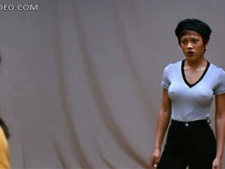 Magnificent Ebony Coddle Theresa Randle Doesn't As if Crippling Bra